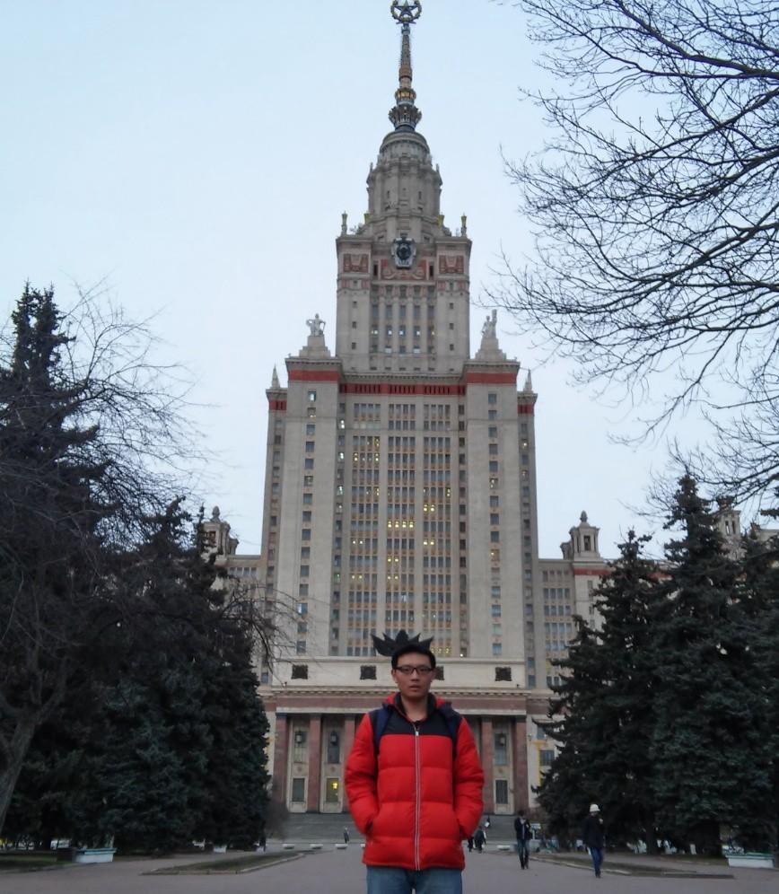 莫斯科国立大学主楼 俄罗斯大学 俄罗斯留学