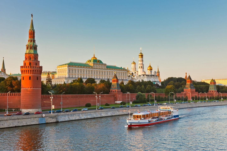 莫斯科河 克林姆林宫 俄罗斯留学 俄罗斯城市介绍 莫斯科