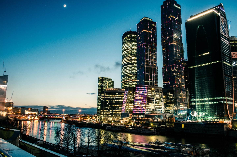 莫斯科CBD区 莫斯科天际线 俄罗斯留学 俄罗斯城市介绍 莫斯科