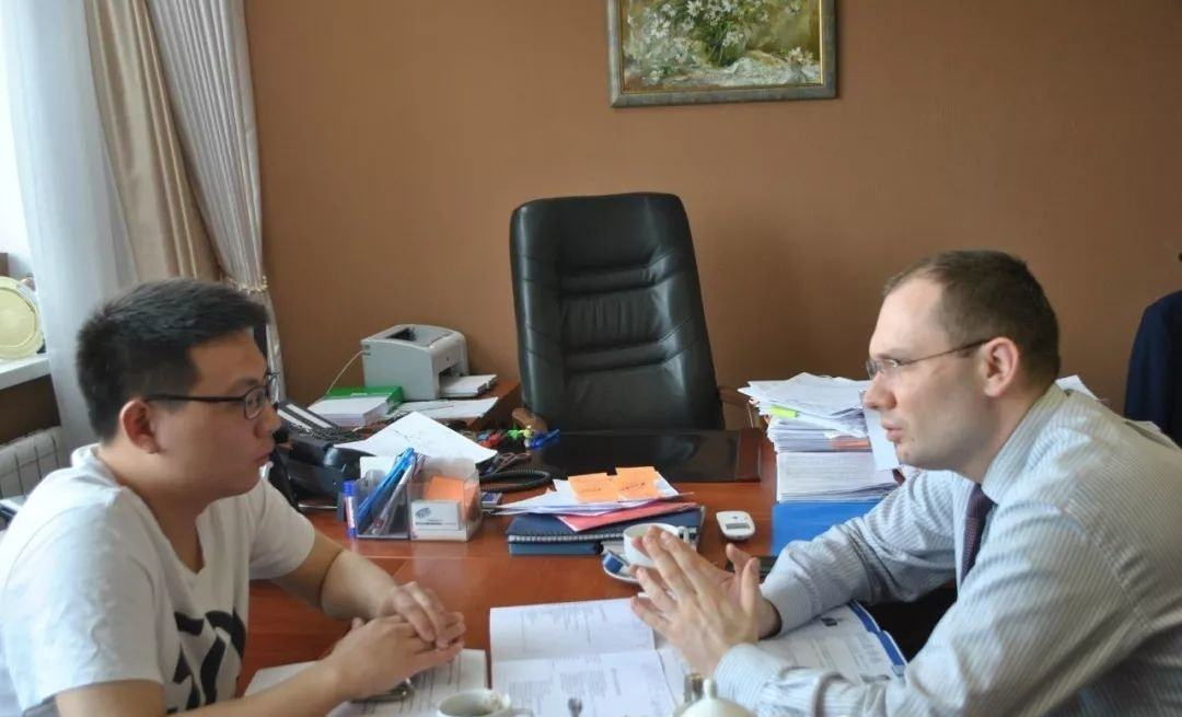 2019年5月和副校长R. Krassnov的会谈沟通后续的合作事宜