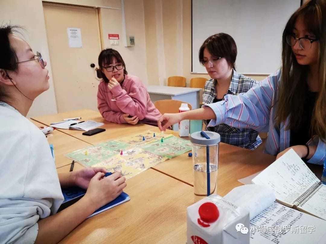 乌拉尔联邦大学预科学生在上课学习俄语|俄罗斯留学|俄罗斯留学费用|俄罗斯大学专业|俄罗斯留学机构